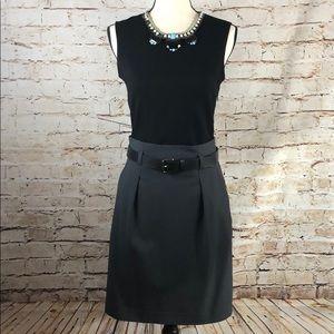 Theory Wool Skirt Dress Combo
